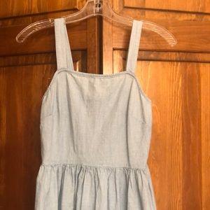 Chambray dress NWOT